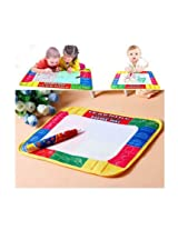 Taaza Garam Doodle Magic drawing painting mat board with baby safe water pen no mess