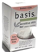 Basis Sensitive Skin Bar Bonus Size 5.3 oz. 3-Pack [Misc.]