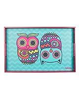 Chumbak Owl Rectangle Tray