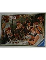 Luncheon Of The Boating Party 2000 Piece Puzzle