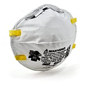 1 PCS OF 3M N95 8210 Health Care Particulate Respirator and Surgical Mask FLU PROTECTION