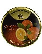Cavendish & Harvey Candies, Orange Drops, 5.3 Oz, Pack Of 12