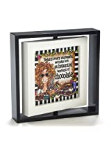 Enesco Suzy Toronto Chocolate Frame, 6""