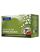 Vlcc Insta Glow Herbal Bleach 21 gm