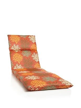 Waverly Sun-n-Shade Marine Life Chaise Lounge Cushion (Mango)