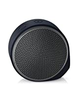 Logitech X100 Wireless Bluetooth Speaker (Black and Grey)