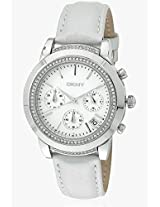 End Of Season Style Dz1556-O Silver/Blue Analog Watch DKNY