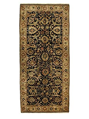Bashian Rugs One-of-a-Kind Hand Knotted Agra Rug, Black, 6' 2