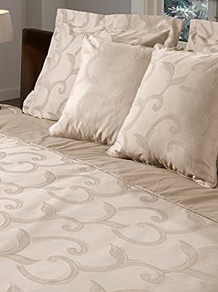 DESCANSO Bettdecke und Kissenbezug