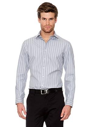Dockers Camisa Cuello Redondo (gris)