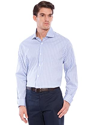 Hackett Camisa Cuadros (Azul / Blanco)