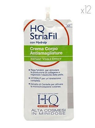 HQ Kit De 12 Productos Crema Cuerpo Antismagliature 30 ml cad.