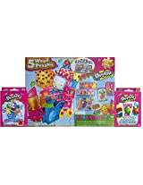 Shopkins 5 Wood Puzzles Ultimate Shopkins Entertainment Kit Includes Also Shopkins Jumbo Playing Cards And Shopkins Whos The Super Shopper Card Game