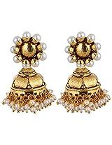 Agarwal Bentex Gold Plated Ginni Jhumki For Women