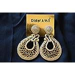 Elegant Gold Metal Fashion Dangle & Drop Earring