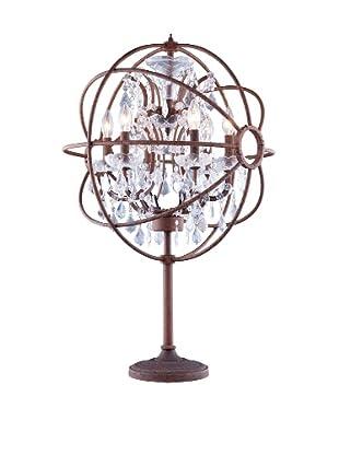 Urban Lights Hemisphere Table Lamp, Bronze