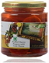 Fiordelisi Stuffed Cherry Peppers with Goat Cheese, 280 grams