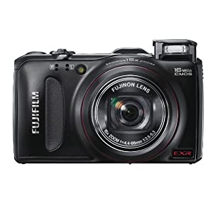 FUJIFILM デジタルカメラ FinePix F550EXR 1600万画素 EXR CMOS 広角24mm 光学15倍 フルHD パノラマ撮影