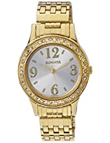 Sonata Analog Multi-Colour Dial women's Watch - 8123YM01