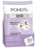 POND'S Evening Soothe Wet Cleansing Towelettes 30-Count