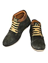 Fashion67 Men's Mid Ankle Casual Shoes Size: 7