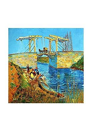 LegendArte  Wandbild Brücke von Langlois von Vincent Van Gogh