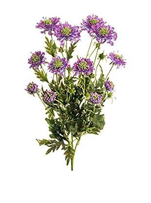 Kunstblumen 6 tlg. Set violett