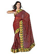 Sehgall Saree Viscose buti with fancy border saree