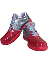 V22 Champ Tennis Shoes - Red/Grey - Size 10 UK