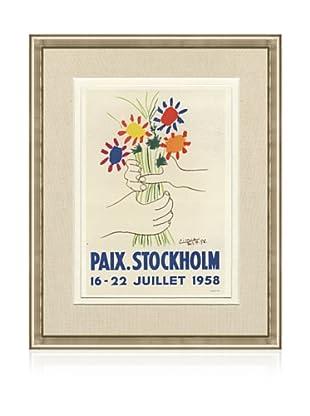 Pablo Picasso Paix Sotckholm, 1959