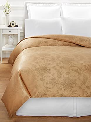 Home Treasures Victoria Floral Duvet Cover (Olive/Gold)
