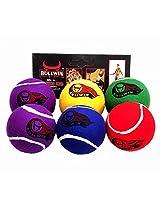 Bullwin cricket tennis ball pack of 12 (BLWC4)