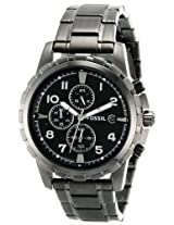 Fossil Dean Chronograph Analog Black Dial Men's Watch - FS4721