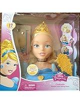 Disney Princess Cinderella Majestic Hair Styling Head