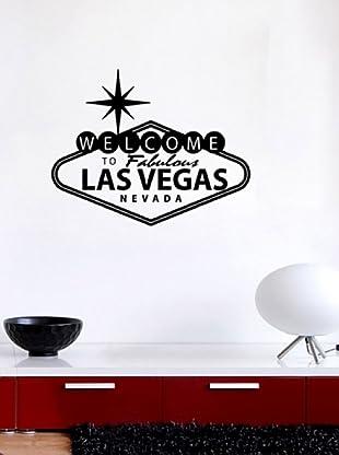 Vinilo Welcome to Las Vegas Negro