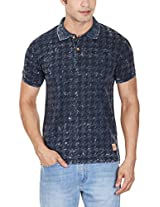 United Colors of Benetton Men's Cotton Polo (8903975026551_15A3LY1J9525I901L_Large_Navy)