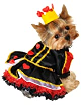 Anit Accessories 8-Inch Royal Queen of Hearts Dog Costume, X-Small