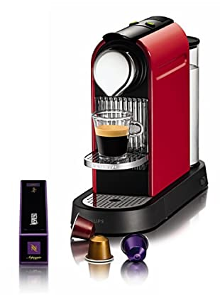 Krups Máquina de Café Nespresso Citiz Roja