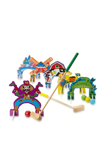 Shure Toys Wooden Mini Golf Set