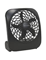 Portable Battery-Operated Fan in BLACK