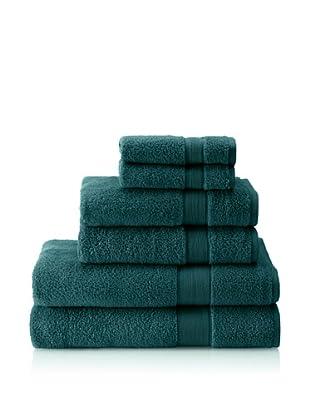 Espalma 6-Piece Signature Bath Towel Set, Everglade