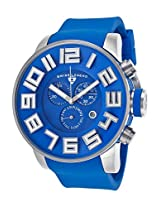 Airbourne Chronograph Blue Silicone And Dial (30425-03)
