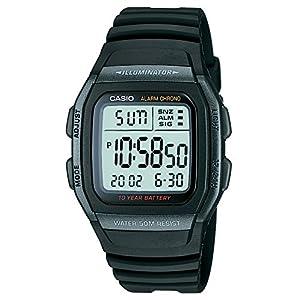 Casio Youth Black Dial Men's Watch - W-96H-1BVDF (D054)