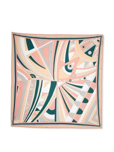 Emilio Pucci Women's Geometric Square Scarf, Pink