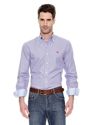 Toro Camisa Fil a Fil (Violeta)