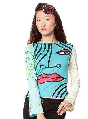 Custo Camiseta Yemin (Turquesa)