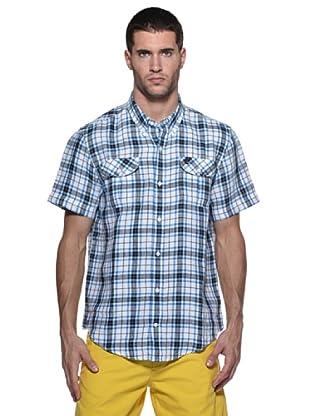 Timberland Camisa Harmon (Blanco/Azul)