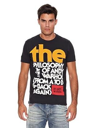 Pepe Jeans London Camiseta Philosophy (Negro)