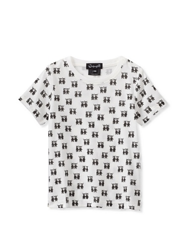 A for Apple Rat T-Shirt with G&M Repeat (White)