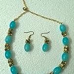 Blue Base Metal Fashion Jewellery Set